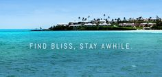 Find bliss, stay awhile. #islandinsight from Bermuda :)
