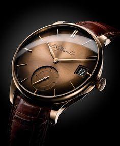 Watches for men - H Moser & Cie Venturer Big Date Elegant Watches, Stylish Watches, Luxury Watches For Men, Beautiful Watches, Cool Watches, Gentleman Watch, Skeleton Watches, Hand Watch, Omega Seamaster