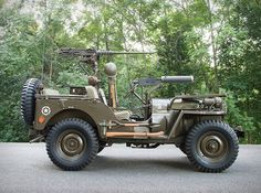 Auction house Sotheby´s is offering a one-of-a-kind chance to own this extremely early, rare, and historically significant 1951 Willys Jeep. Willys developed the to supply the US military for the Korean War, since then it has inspired both an Jeep Willys, Military Jeep, Military Vehicles, Old Jeep, Toyota, Jeep Truck, Korean War, Pontiac Firebird, Us Cars