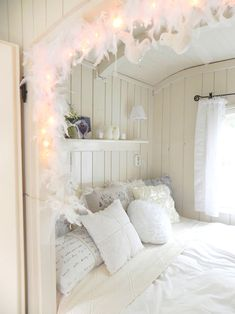 Heart Handmade UK: Glamping in the Pipowagen   A Shabby Chic Shed for Camping in the Netherlands