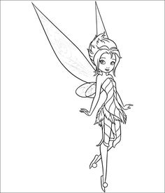 75 Tinkerbell printable coloring pages for kids. Find on coloring-book thousands of coloring pages. Tinkerbell Coloring Pages, Fairy Coloring Pages, Disney Coloring Pages, Printable Coloring Pages, Coloring For Kids, Coloring Pages For Kids, Coloring Books, Periwinkle Fairy, Secret Of The Wings