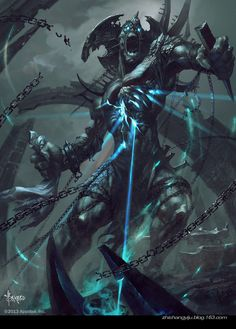 Check out this awesome piece by Bayard Wu on #DrawCrowd