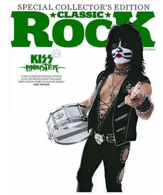 Kiss Rock Bands, White Face Paint, Vinnie Vincent, Eric Carr, Peter Criss, Kiss Art, Black And White Face, Paul Stanley, Hot Band