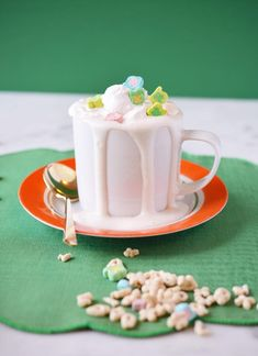 Irish Cocoa for St. Patrick's Day!