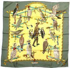 Foulard / Carré / Scarf / Tuch hermès les oiseaux du Roy
