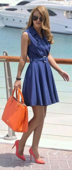 Vestido  blue