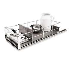 two side by side in pantry 9 inch pull-out organizer - retina