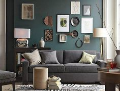 Wall groupings are taking on a life of their own in many rooms, with people creating interesting and unusual arrangements. It's a great way for people to gather their favorite things and present them where they can be seen and enjoyed daily.