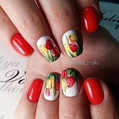 #ногти #маникюр #дизайнногтей #гельлак #шеллак