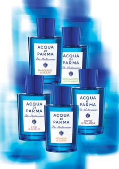 Aqua di Parma - Bergamotto di Calabria from their Blue Mediterraneo series... My favorite summer scent.