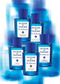 Aqua di Parma - Bergamotto di Calabria from their Blue Mediterraneo series... My favorite summer scent.