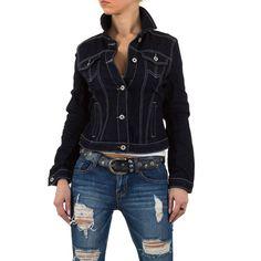 19,99 € - Stylische Jeansjacke mit Crinkle-Effekten.