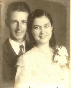 Joe Liebgott (1915-1992) from Band of Brothers and his wife Frances