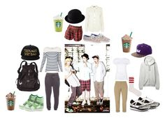 """""""EXO """"Growl"""" Teaser Photo Kai Suho & Xiumin Inspired Outfits"""" by smokingcrayonz ❤ liked on Polyvore featuring Tokyo Fashion, French Connection, Rusty, Uniqlo, Keds, Charlotte Russe, Full Tilt, Oasis, United Couture and Supra"""