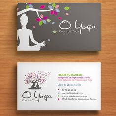 freelance Carte de visite O Yoga by fibr