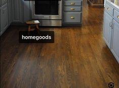 Hardwood floor color Hardwood Floor Stain Colors, Hardwood Floors, Flooring, Home Goods, Kitchen Cabinets, Home Decor, Wood Floor Tiles, Wood Flooring, Decoration Home