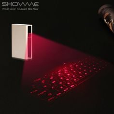 Everbuying Mobile offers high qualit SHOWME Laser Projection Virtual Bluetooth Keyboard External Battery Charger Power Bank for Android Samsung HTC ONE / iPhone 6 / 6 Plus / iOS / PC etc. at wholesale price from China. Mobile Offers, External Battery Charger, Htc One M9, Bluetooth Keyboard, Pocket, Free Shipping