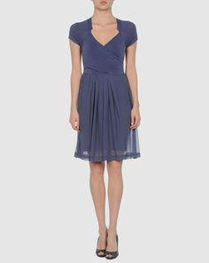 Jersey and silk slate blue dress.  Now $79 down from 315!