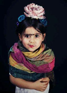 Frida Kahlo children's costume