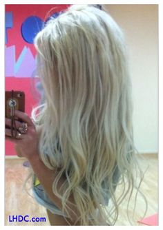 Beautiful Blonde Hair! #longhairdontcare #lhdc #hair    |    www.LHDC.com