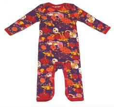 Småfolk Forest Baby Suit