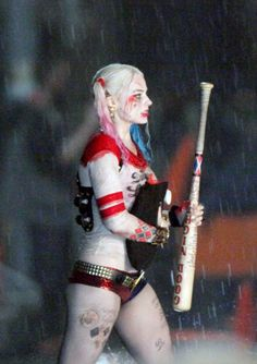 Harley Quinn played by Margot Robbie in the Suicide Squad movie