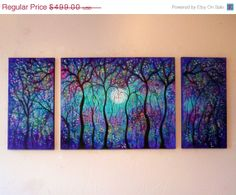 Large Original oil  Painting contemporary modern by jeanvadalsmith, $274.45