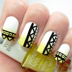 Bananas – Nail Art