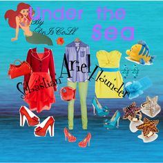 Disney inspired fashion: trends from Under the Sea!