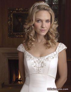 beautiful wedding hairstyle for medium hair - Hairstyle Ideas