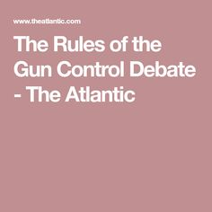 the debate about the controversial topic of gun controls in the us Pros and cons of controversial issues read pro and con arguments for and against topics such as medical marijuana, euthanasia, prostitution, gun control, and more.