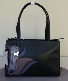 "Radley Black Medium Shoulder Bag - BNWT - ""Linosa"" - RRP £165 - NEW | eBay"