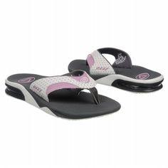 Reef Fanning Sandals (Grey/White/Pink) - Women's Sandals - 6.0 OT