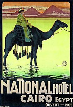 'Cairo - National Hotel, 1905' - Wonderful A4 Glossy Art ... https://www.amazon.co.uk/dp/B01IMZQZVM/ref=cm_sw_r_pi_dp_hNjJxb7AHY3MS