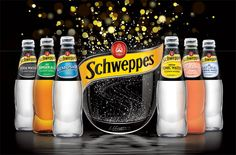 Schweppes Core Range on Packaging of the World - Creative Package Design Gallery