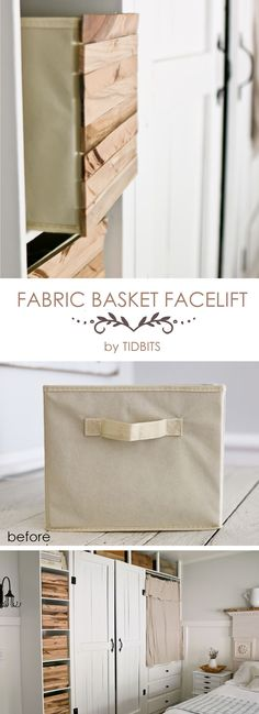 Fabric Basket Faceli