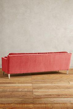 Slide View: 2: Velvet Leonelle Sofa