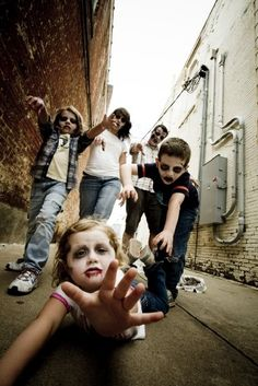 Zombie Family (awesome shot)