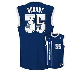 adidas Oklahoma City Thunder Kevin Durant NBA Jersey - Men