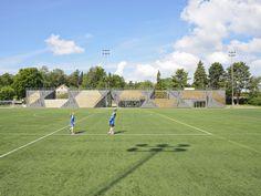 Gallery - Lidingövallen Small Football Stadium / DinellJohansson - 1