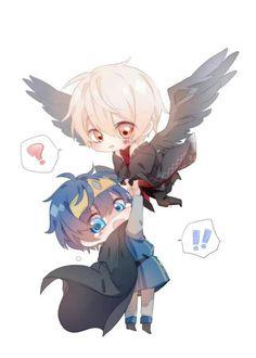 そらまふ Kawaii Chibi, Cute Chibi, Manga Anime, Anime Art, Dibujos Anime Chibi, Otaku Issues, Natsume Yuujinchou, Anime Child, Dibujos Cute