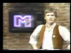 """MTV goes on the air running around the clock music videos, debuting with """"Video Killed the Radio Star."""" I want my MTV!"""