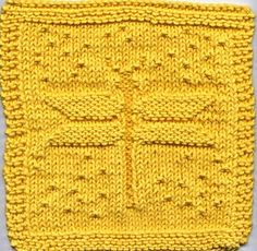 Free Dishcloth Pattern #knitting