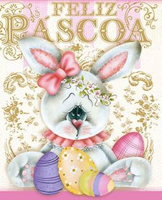 coelhinha - Rose Ferreira Painting Words, Fabric Painting, Happy Easter, Easter Bunny, Cool Clipart, Tole Painting Patterns, Spring Painting, Easter Projects, Pintura Country