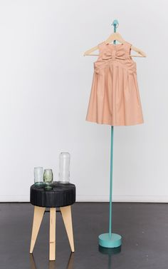 Lucy Jurk met stof in Blush kleur