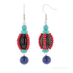 Global Wealth Trade Corporation - FERI Designer Lines Ancient Egyptian Artifacts, Monogram Earrings, Lapis Lazuli Earrings, Selling On Pinterest, Jewelery, Jewelry Accessories, Metals, Drop Earrings, Gemstones
