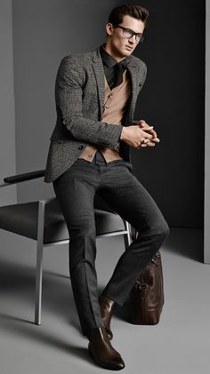 Garrett Neff for Boss Menswear Fall/Winter 2014