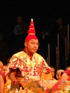 The 17th Karmapa (Photograph by Dean Mead)