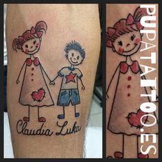 https://flic.kr/p/R1QX63 | Tatuaje Niños Pupa Tattoo Granada | instagram : instagram.com/pupa_tattoo/  Web: www.pupatattoo.es/  Citas: 958221280  #tattoo #tattoos #tatuaje #tatuajes #tattoogranada #ink #inked #inkaddict #timetattoo #tattooart #tattooartists