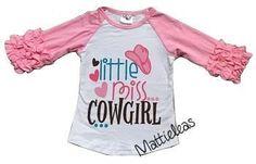 RAGLAN - Little Miss Cowgirl